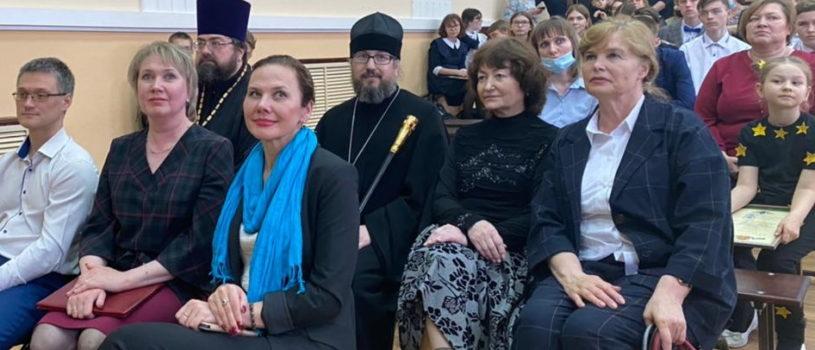 Архипастырь посетил гала-концерт фестиваля «Лики добра 2021», проходящий ежегодно в Чамзинском лицее