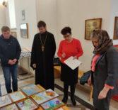 В Андреевском кафедральном соборе прошло подведение итогов конкурса детского рисунка в честь св.ап.Андрея Первозванного