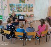 Крестопоклонную Неделю и праздник Благовещение Пресвятой Богородицы отметили воспитанники Большеигнатовского детского сада