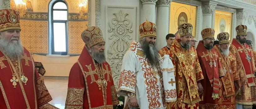 В день своего тезоименитства митрополит Нижегородский и Арзамасский Георгий освятил храм в честь блаженной Матроны Московской