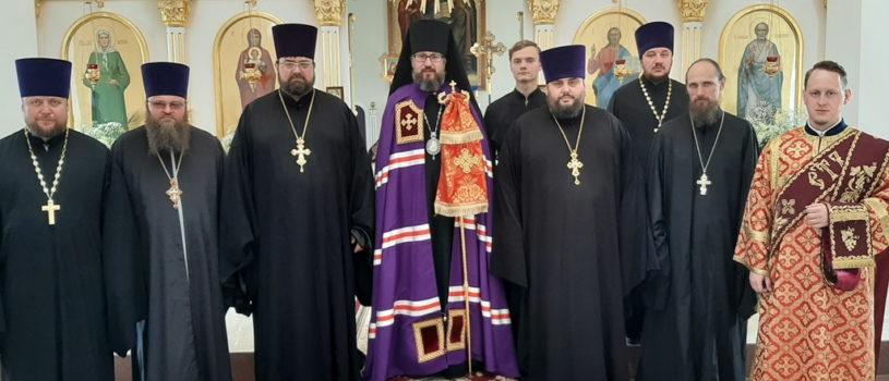 Пятница Светлой Седмицы в Никольском храме с.Дубенки