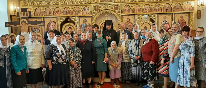 Престольное торжество в храме святителя Николая Чудотворца с.Кучкаево Большеигнатовского района