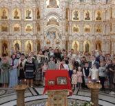 Архипастырь посетил Пасхальный утренник воскресной школы Андреевского кафедрального собора п.Атяшево