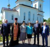 Врио Главы Республики Мордовия А.А.Здунов совершил рабочий визит в Большеигнатовский район