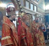 Архипастырь принял участие в торжествах по случаю 10-летия образования Краснослободской епархии