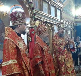 Соборным богослужением духовенство Мордовской митрополии отметило 10-летие образования Краснослободской епархии