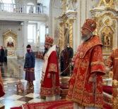 Антипасха в Кафедральном соборе святого праведного воина Феодора Ушакова г.Саранска