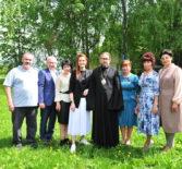 Архипастырь с рабочим визитом посетил Большеигнатовский район