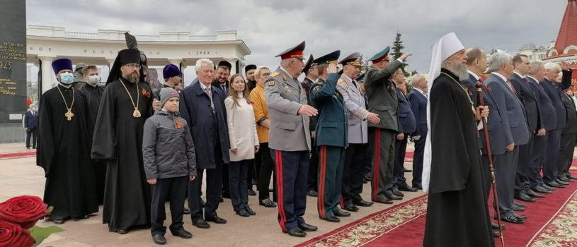 Парад, посвященный Дню Победы прошел по центральной площади Саранска