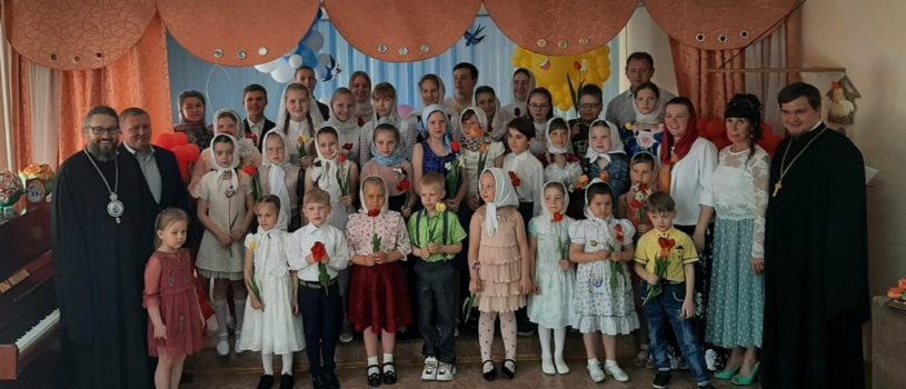 Архипастырь посетил Пасхальный концерт воскресной школы Никольского кафедрального собора г.Ардатова