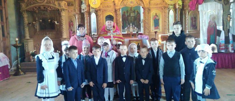 День славянской письменности в храме Архангела Михаила с.Большое Игнатово