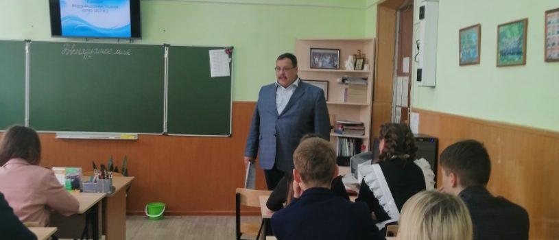 В Комсомольской СОШ №1 и СОШ №2 Чамзинского района прошли лекции о святом праведном воине Феодоре Ушакове