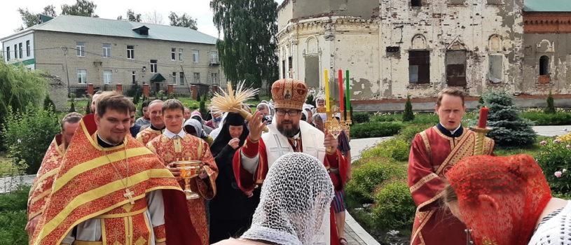 Отдание Пасхи в Никольском кафедральном соборе г.Ардатова
