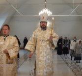 Архипастырь совершил Всенощное бдение в Никольском кафедральном соборе накануне Вознесения Господня