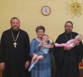 Архипастырь совершил Таинство Крещения детей Большеберезниковского специализированного дома ребенка