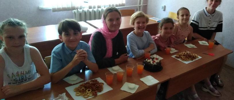 Ученики воскресной школы Никольского кафедрального собора отметили праздник — Неделя всех Святых