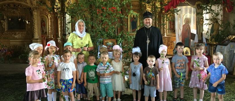 Праздник Святой Троицы в Большеигнатовском детском саду