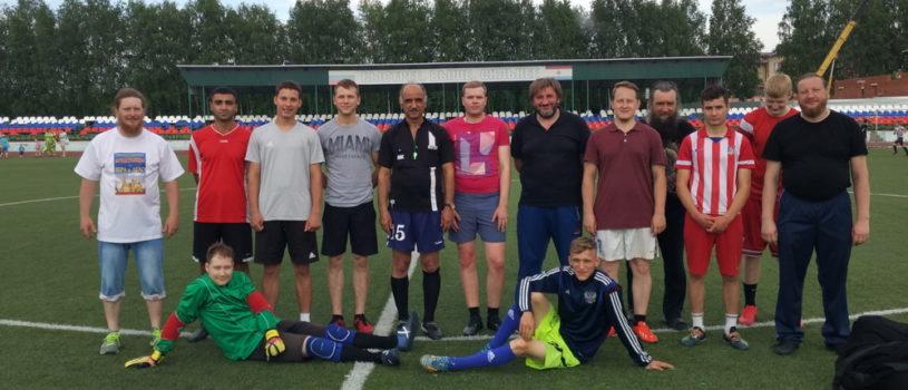 В Ардатове прошла тренировка футбольной команды Ардатовской епархии