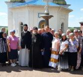 Казанско-Ключевскую мужскую пустынь посетили богомольцы из Нижнего Новгорода