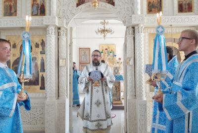 Праздник явления иконы Пресвятой Богородицы во граде Казани в Никольском кафедральном соборе