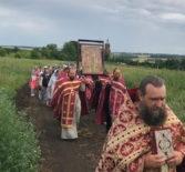 Традиционный крестный ход на Казанском архиерейском подворье с.Маколово Чамзинского района