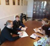 Архипастырь провел совещание с руководителем благотворительного фонда поддержки материнства и детства «Женщины за жизнь»