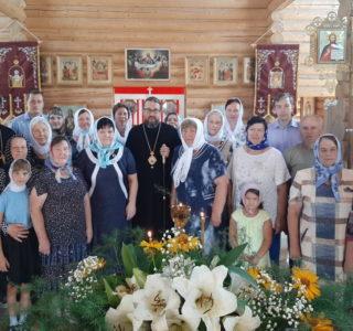 Память Царских Страстотерпцев в храме Новомучеников и Исповедников Российских г.Ардатова