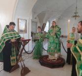 Всенощное бдение накануне Недели 4-й по Пятидесятнице в Никольском кафедральном соборе г.Ардатова