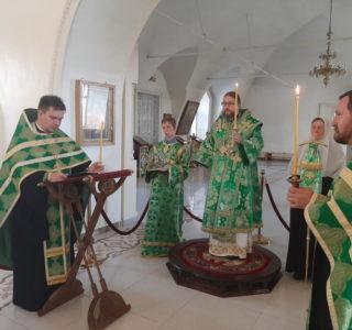 Всенощное бдение в Никольском кафедральном соборе