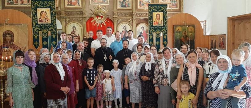 Архипастырь совершил Божественную литургию в храме пророка Илии с.Тарасово 2-го церковного округа Атяшевского благочиния