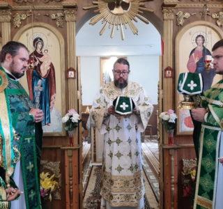 Божественная литургия в Ильинском храме с.Тарасово Атяшевского района