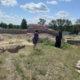 Рабочий визит в новостроящийся храм в п.Октябрьский Ардатовского района