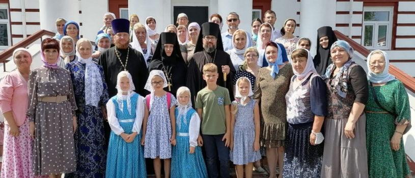 Архипастырь посетил Наровчатский Троице-Сканов женский монастырь. Вечная память приснопамятной игумении Тавифе (Бакулиной)
