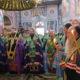 В Дивеево накануне дня обретения мощей преподобного Серафима Саровского прошла малая вечерня с акафистом преподобному и всенощное бдение