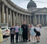Паломническая поездка в Санкт-Петербург волонтёров молодежного отдела Ардатовской епархии