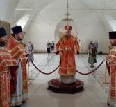 Архипастырь и духовенство Ардатовской епархии вознесли молитвы св.вмч. Пантелеимону за болящую паству и о здравии всех пасомых