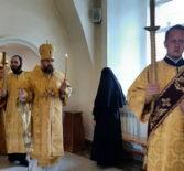 Всенощное бдение в Никольском кафедральном соборе накануне Недели 8-ой по Пятидесятнице