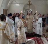 Неделя 9-я по Пятидесятнице, попразднство Преображения Господня в Никольском кафедральном соборе г.Ардатова