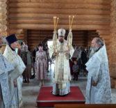 Отдание праздника Преображения Господня на Лукинском архиерейском подворье г.Саранска