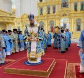 В день памяти иконы Божией Матери «Казанская-Пензенская» в Спасском кафедральном соборе г.Пензы прошло соборное молитвенное торжество