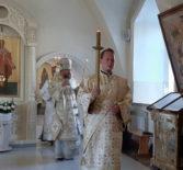 Всенощное бдение накануне Преображения Господня в Никольском кафедральном соборе г.Ардатова
