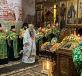 Всенощное бдение накануне памяти прп. Макария Желтоводского в Свято-Троицком Макарьевом монастыре