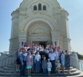 Неделя 8-я по Пятидесятнице в Андреевском кафедральном соборе п.Атяшево