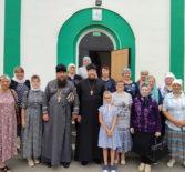 Паломники Троицкого прихода из Больших Березников совершили богомолье в Дивеево