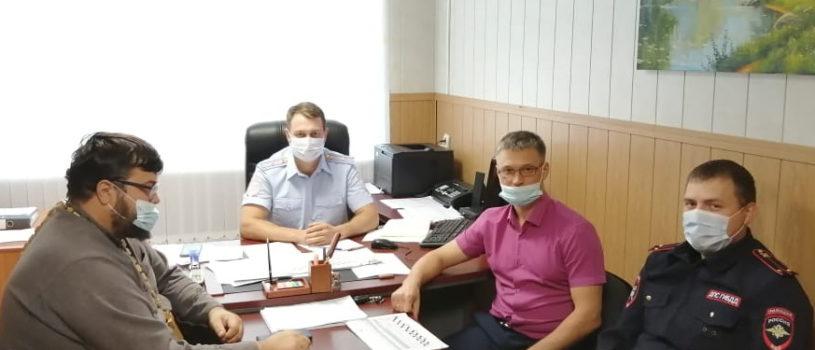 Члены Общественного Совета посетили отделение ОГИБДД ММО МВД «Чамзинский»