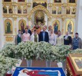 В Никольском храме с.Дубенки был отслужен молебен святым мученикам Флору и Лавру, покровителям ветеринарной службы