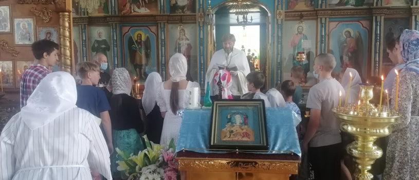 В Космодамиановском приходе с.Кечушево Ардатовского района прошла «Детская Литургия»