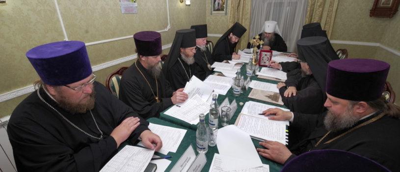 Владыка Вениамин стал почетным гостем на заседании Архиерейского совета Нижегородской митрополии