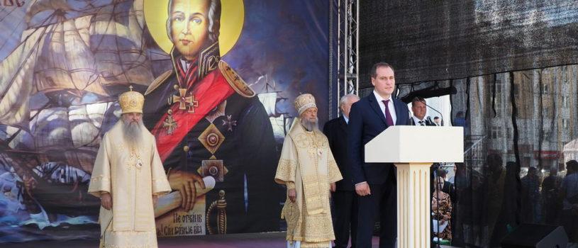 Сегодня в Саранске отмечается 30-летие образования Саранской епархии и 20-летие канонизации праведного воина Феодора Ушакова