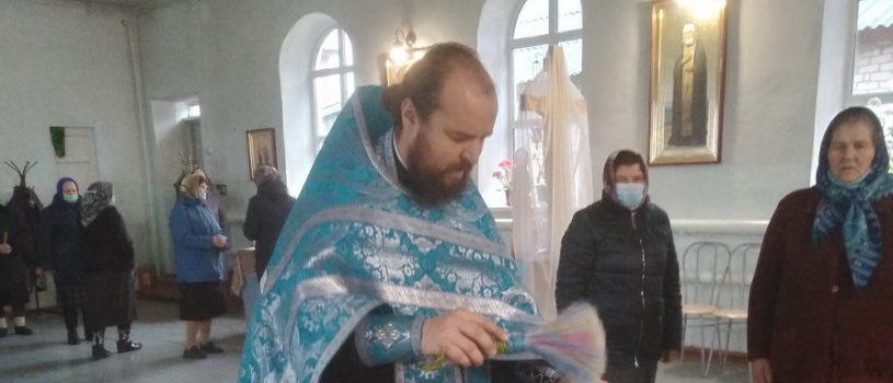 Престольное торжество в храме Рождества Пресвятой Богородицы с.Поводимово Дубенского благочиния